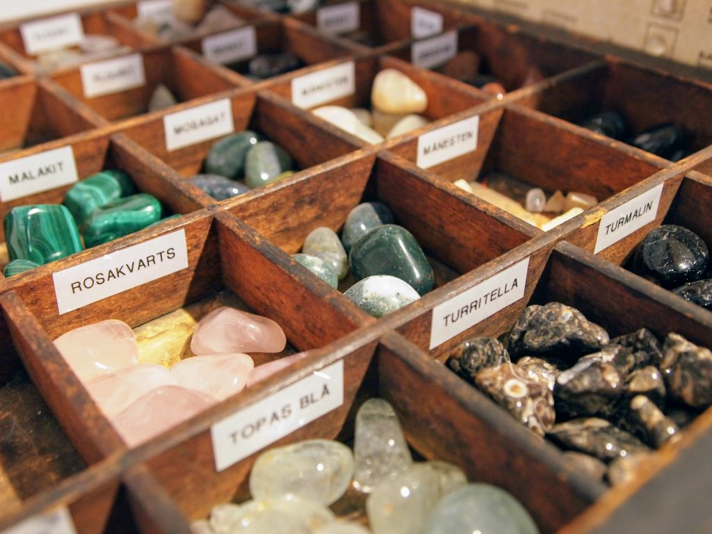 Krystaller hos Natur & Trivsel