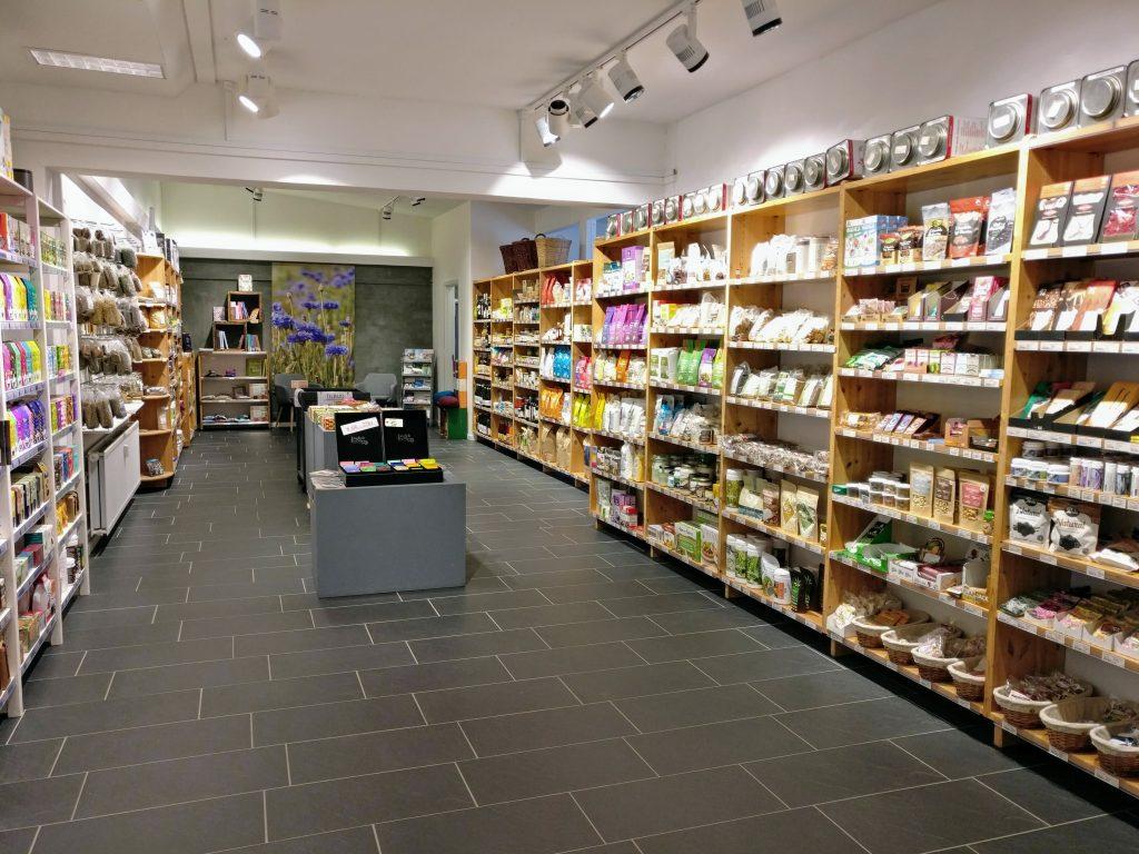 Butikslokale i Natur & Trivsel.